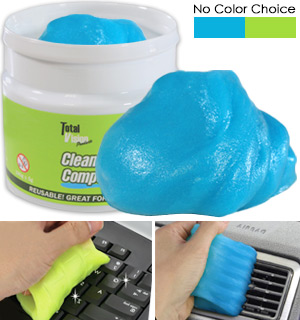 Keyboard Cleaning Slime - High-Tech Cleaning Compound With No Res… - #8490