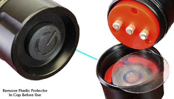 Remove Plastic Protector In Cap Before Use