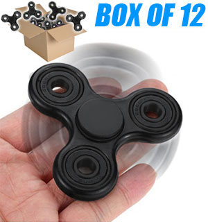 Dozen of Fun Fidget Spinners - YES a whole pack of 12 - #8513A