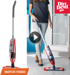 Dirt Devil Dry Vac and Dust