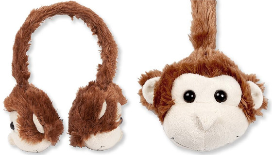Fuzzy Animal Headphones by Gentek