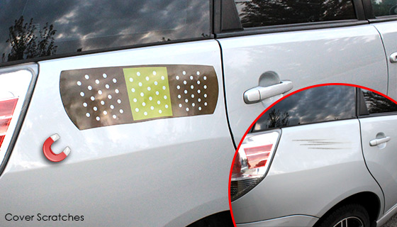 17inch Band-Aid Car Magnet - Great for Cars, Lockers