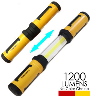 Extendable 1200 Lumen Work Light/Glow Light