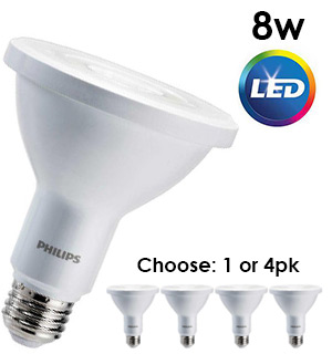Philips 75-Watt Equivalent LED Can/Flood Light Bulb - Dimmable and Indoor/Outdoor - #8546A