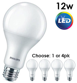 Philips 75W-Equivalent LED Bulb - Dimmable - #8547A