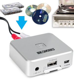 Portable Audio Converter with Remote Control - #8555