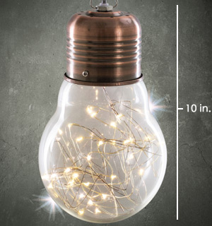 10-inch Shimmer Bulb Light - Designed to Enchant and Charm - #8569