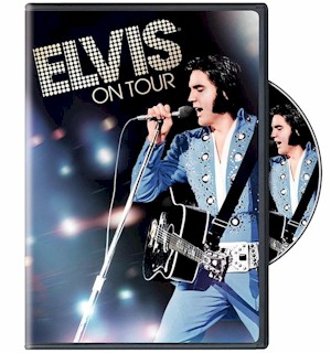 Elvis On Tour DVD - 15 Cities in 15 Days - #8575