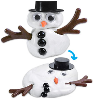 Melting Putty Snowman Kit - #8579