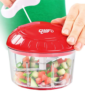 Crank Chop Food Chopper - Chop, Mince, And Puree! - #8581