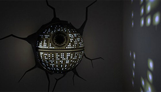 Star Wars 3DLightFX Wall-Mounted Nightlights