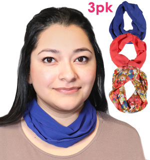 NecCessory Magnetic Scarves - Set of 3 - #8600