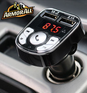 Armor All Bluetooth FM Transmitter & Car Charger