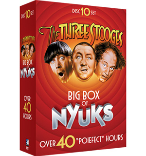 The Three Stooges: Box Of Nyuks DVD