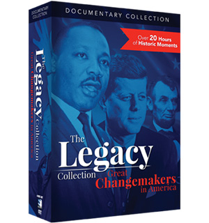 The Legacy Collection: Great Changemakers in America DVD - #8614