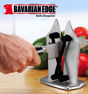 Bavarian Edge Knife Sharpener: Deluxe Black Diamond Edition - #8621