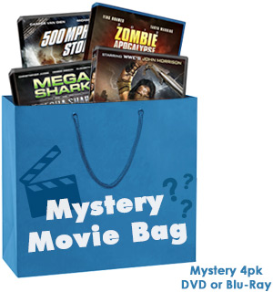 4-Movie Mystery Pack of DVDs and Blu-Ray - #8642A