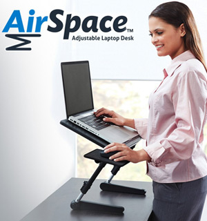 Air Space Adjustable Laptop Desk - #8679