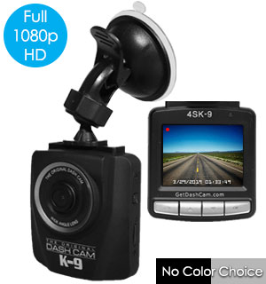 The Original 1080p Dash Cam with Bonus 8GB Micro SD Card - #8688