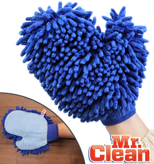 Mr. Clean Microfiber Dusting and Cleaning Mitt - #8692