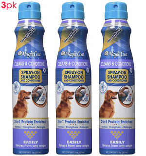 Magic Coat 2-in-1 Shampoo & Conditioner (3-pack) by Four Paws - #8694A