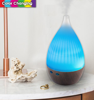 Color Changing Aroma Diffuser & Humidifier (Dented Packaging) - #DD-8714