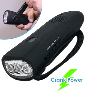 The BEST Hand-Crank Flashlight With Emergency Radio and Power Ban… - #8717