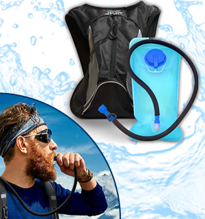 Hydro-Pro Hydration Backpack - #8721