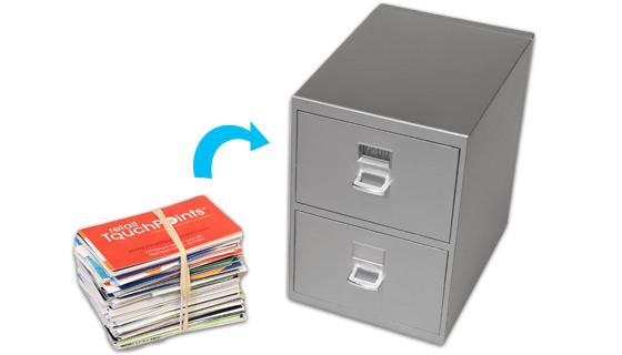 Mini Desktop File Cabinet With Digital, Mini File Cabinet