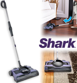 Refurbished Shark 2-Speed Cordless Floor And Carpet Sweeper - #8746