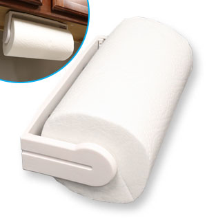 Wall or Cabinet Paper Towel Holder - #8749