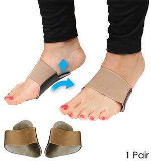 Padded Arch Support - Helps Relieve Plantar Fasciitis and more - #8755