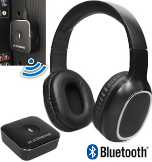 HDTV Bluetooth Wireless Headphone And Transmitter Kit