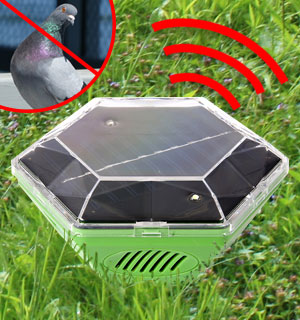 Solar Ultrasonic Birds Away - #8765