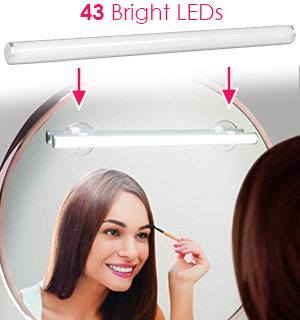 Rechargeable Vanity Light Bar with Touch Control