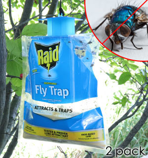 Disposable Fly Trap by Raid 2-Pack - #8784A