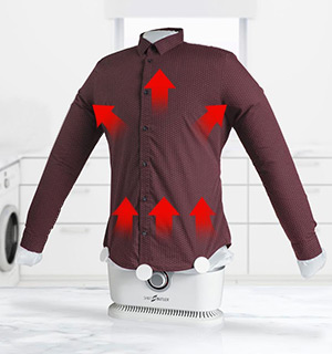 Shirt Butler - Dries and Irons Your Clothes All At Once - #8788