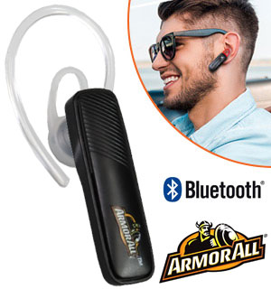 Bluetooth Mono Headset: All-Day Hands-Free Phone Use - #8795