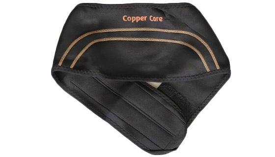 Copper Infused Compression Back Brace by Copper Care