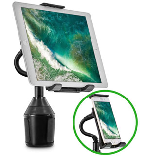 Universal Cup Holder Mount for Phones and Tablets - #8821