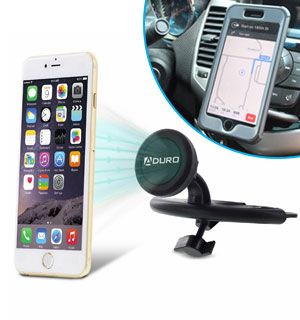 CD Slot Magnetic Phone Mount By Aduro - #8823