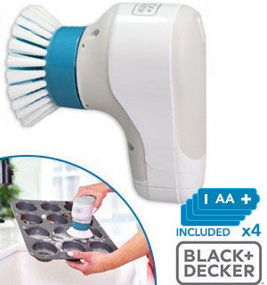 Grimebuster Handheld Power Scrubber by Black and Decker - #8839