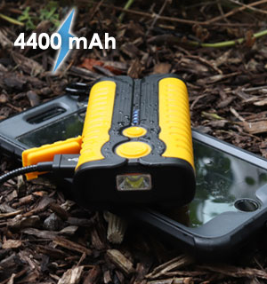 4400 mAh Water-Resistant Outdoor Power Bank - #8856