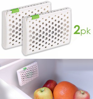 Refrigerator Air Purifier and Deodorizer