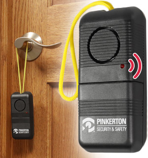 Portable Motion Sensor Alarm System - from Pinkerton Home Securit… - #8866
