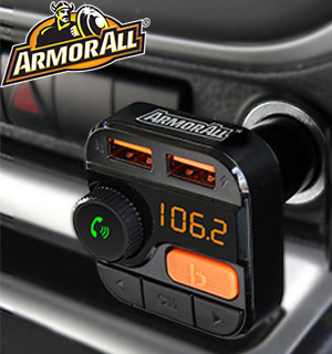 Bass-Boosting Bluetooth FM Transmitter & Car Charger by Armor All - #8884
