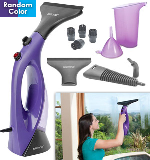 Sienna Visio Window Steam Cleaner W/ Extra Accessories - Refurbished - #8889