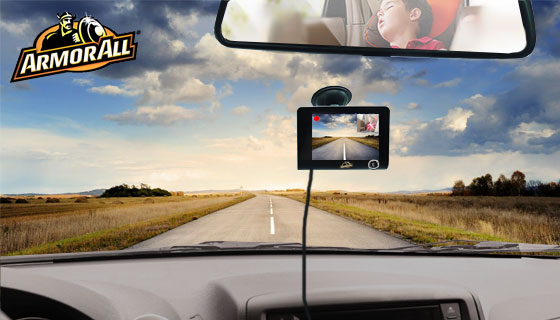 1080P Dual Dash Cam by Armor All