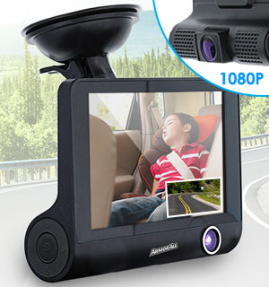 1080P Dual Dash Cam by Armor All - #8898