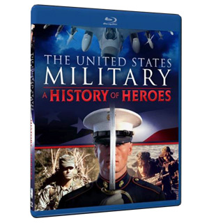 The United States Military - A History of Heroes on Blu-ray - #8901